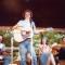 1977 - Tom Rush playing at the Philadelphia Folk Festival. Photo: Hugh O'Doherty