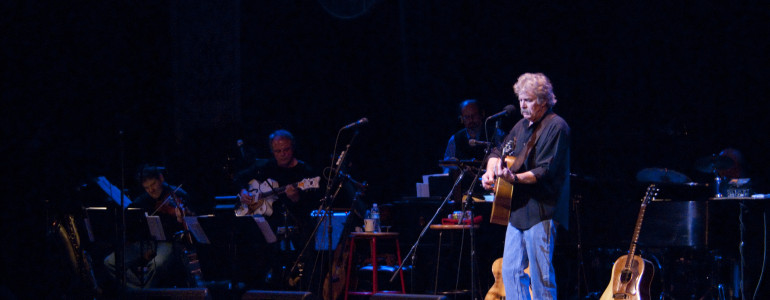 Tom plays on Garrison Keillor's A Prairie Home Companion with Elvis Costello