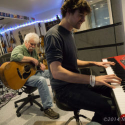 Tom Rush in session with Matt Nakoa
