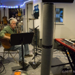 Tom Rush in session with Matt Nakoa | © Neil Eckstein, All rights reserved.