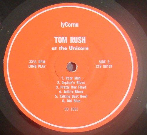 Tom Rush - Mind Rambling