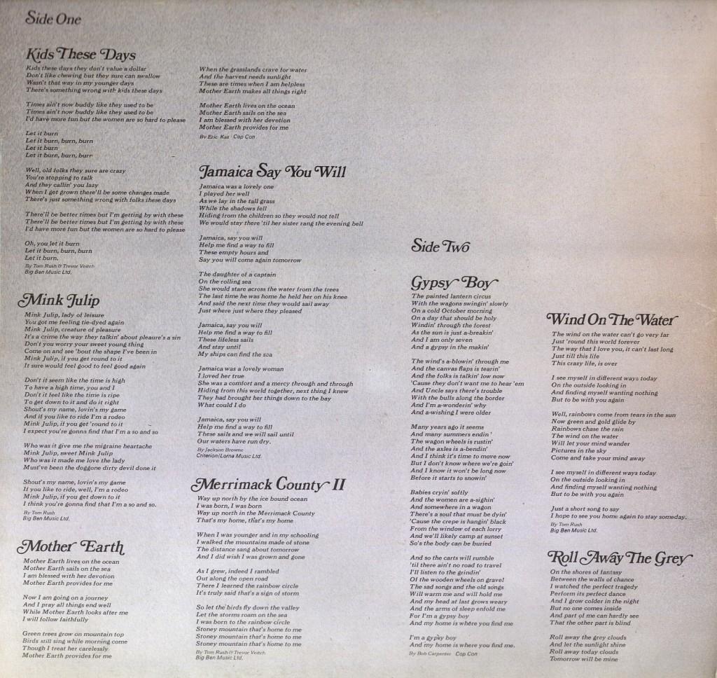 discography tom rush