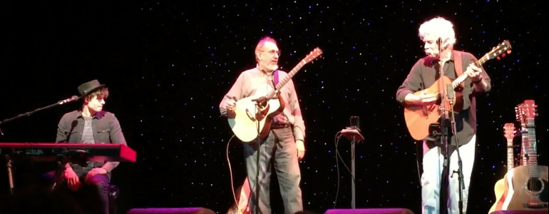 "Tom & David Bromberg perform ""Jazzman"" & ""Drop Down Mama"""
