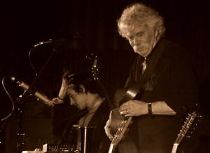 Tom & Matt on stage